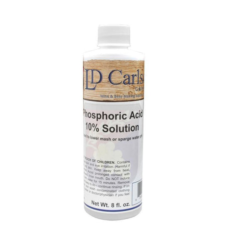 Phosphoric Acid 10% Solution - 8 oz