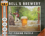 Two Hearted Fisherman 1000 Piece Puzzle