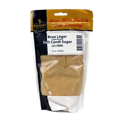 Brewer's Best Brun Leger Soft Candi Sugar - 1 lb