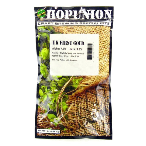 First Gold (UK) Hops - 1 lb Pellets