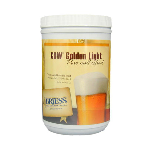 Briess Golden Light Liquid Malt Extract (LME) - 3.3 lbs