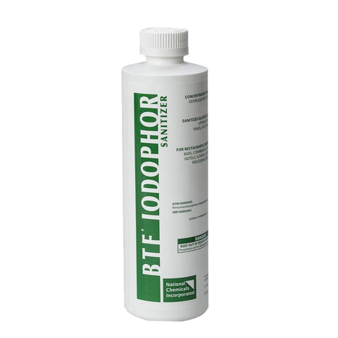 Iodophor BTF Sanitizer - 16 oz.