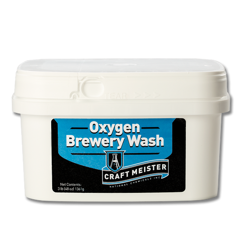 Craft Meister Oxygen Brewery Wash - 3 lb