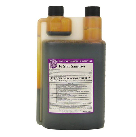 IO-Star Sanitizer - 32 oz