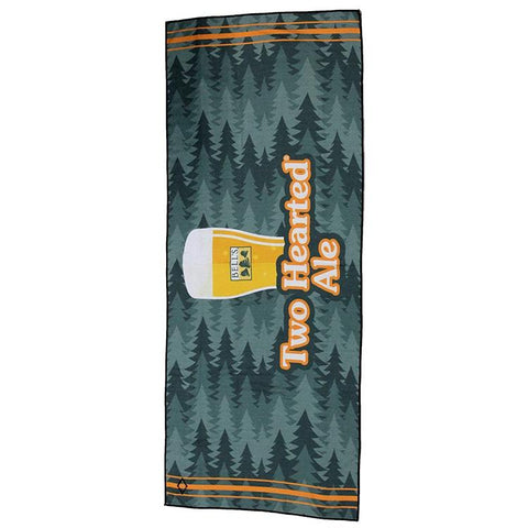 Two Hearted Recycled Beach Towel