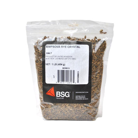 Simpsons Red Rye Crystal Malt - 1 lb