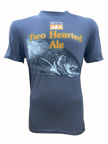 Men's Two Hearted Ale Short Sleeve Tee - Charcoal