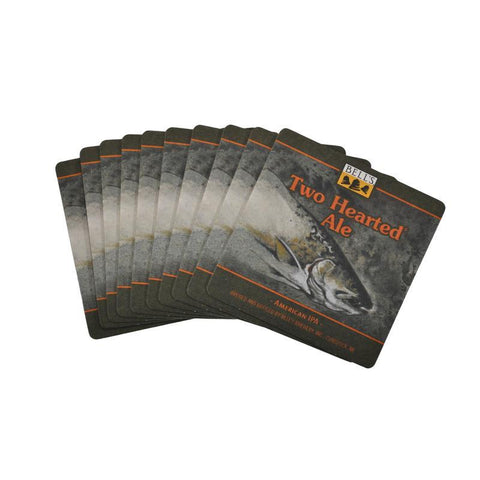 Two Hearted Ale Paper Coasters - Stack of 10