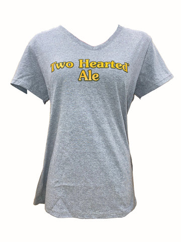 Women's Two Hearted Ale V-Neck Short Sleeve Tee
