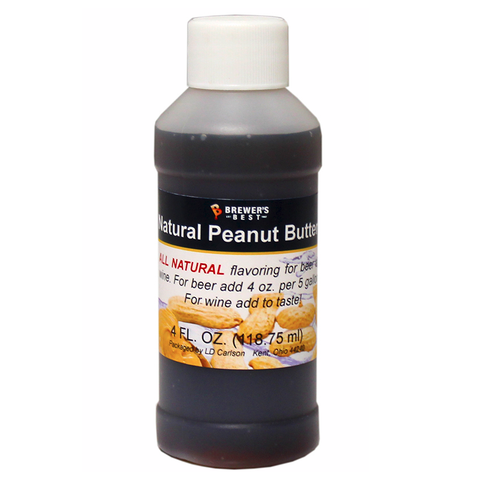Brewer's Best® Natural Peanut Butter Flavoring - 4 oz