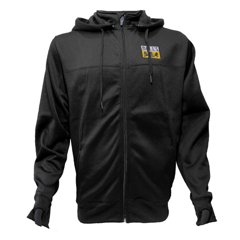 Bell's Inspired Brewing® Poly-Tech Zip-Up Hooded Sweatshirt - Black