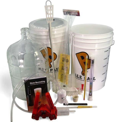 Deluxe Brewer's Best® Beer Brewing Equipment Kit w/ Glass Carboy