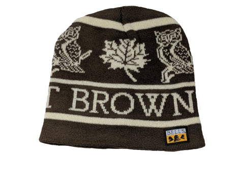 Best Brown Ale Custom Knit Beanie