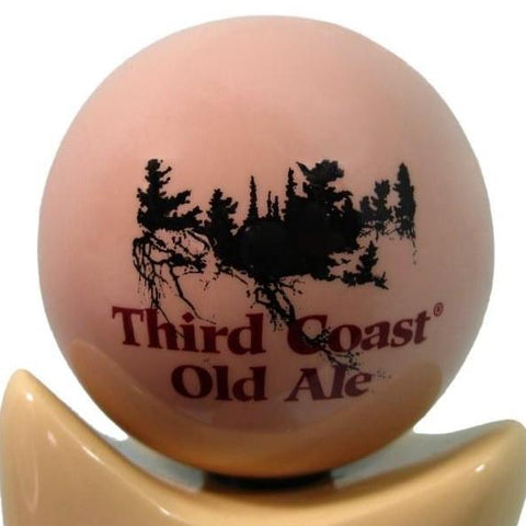 Third Coast Old Ale Tap Handle Globe