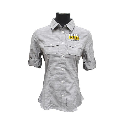 Women's Bell's Inspired Brewing® Burnside® Long Sleeve Button Up Shirt