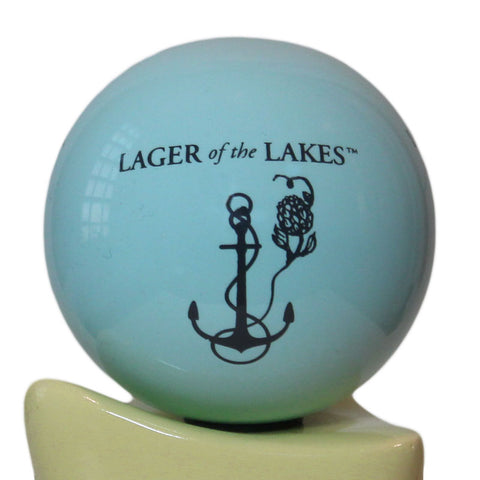 Lager Of The Lakes Tap Handle Globe