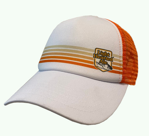 Light Hearted White Stripe Trucker Hat