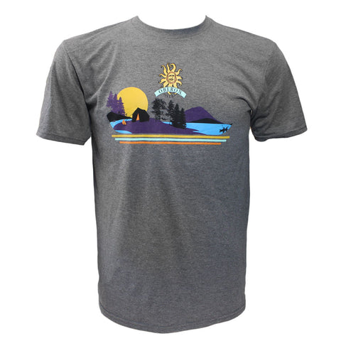 Men's Oberon Ale Lake Scene Short Sleeve T-Shirt
