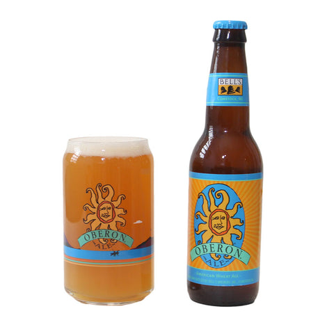 "Oberon Ale ""Can"" Glass - Lake Scene"