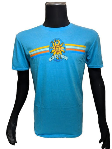 Men's Oberon Ale Short Sleeve T-Shirt - Caribbean Blue