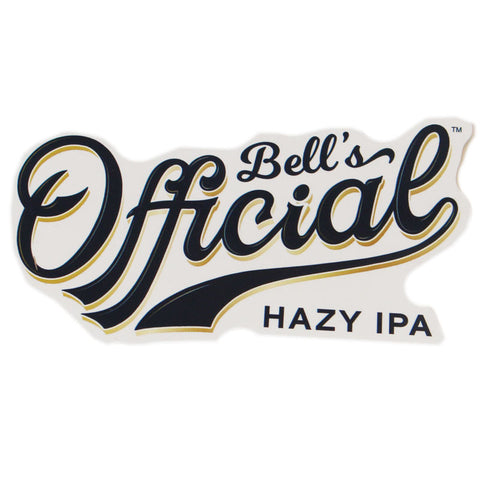 Official Hazy IPA Decal - Blue