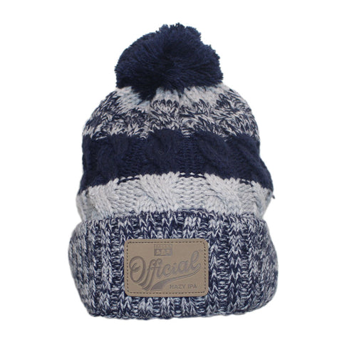 Official Knit Beanie with Pom