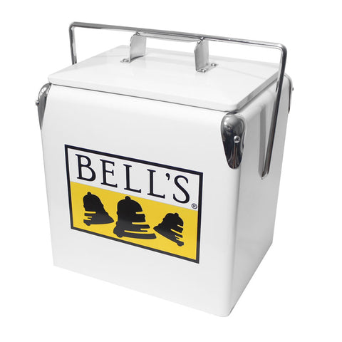 Bell's Retro Metal Picnic Cooler