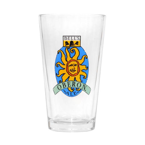 Oberon Ale Pint Glass - 16 oz (Undated)