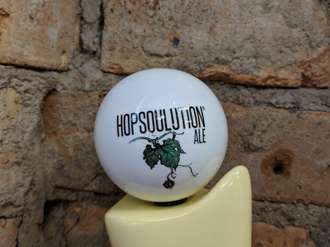 Hopsoulution Ale Tap Handle Globe