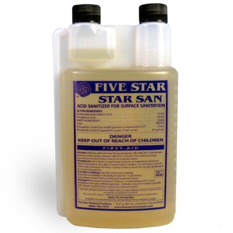 Five Star - Star San Sanitizer - 32 oz