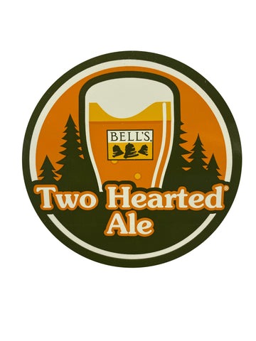 Two Hearted Round Sticker