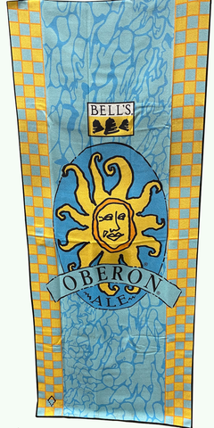 Oberon Recycled Beach Towel - Pool
