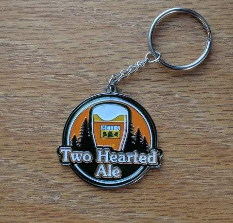 Two Hearted Keychain