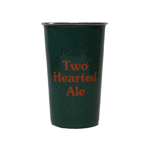Two Hearted Enamelware Pint  - 16 oz
