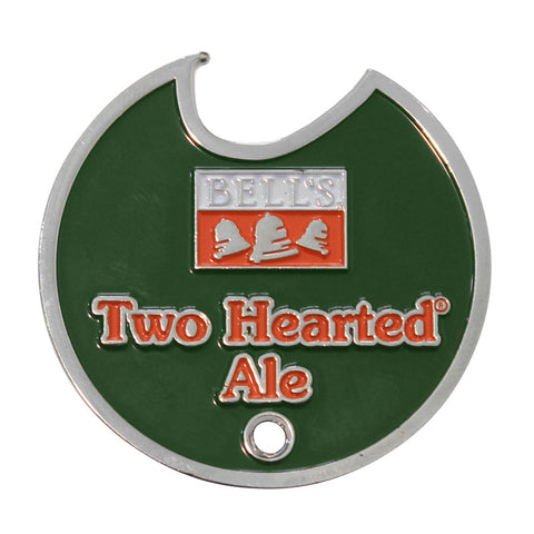 Two Hearted Ale Keychain Medallion