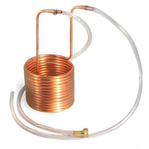 Coldbreak Brewing 25' Compact Copper Immersion Wort Chiller