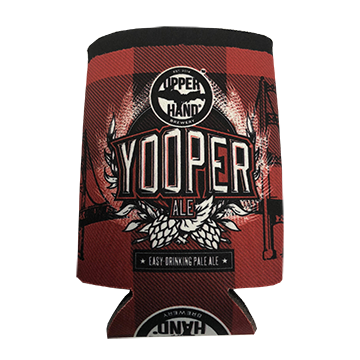 Upper Hand Brewery Yooper Ale Can Cozy