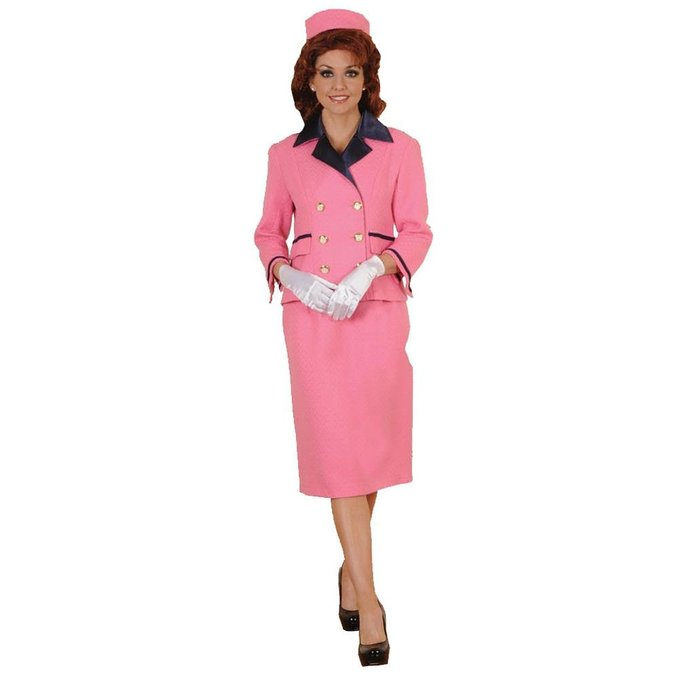 Women's Iconic Pink Suit First Lady Costume- Limited Edition
