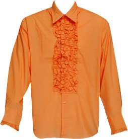 low priced wholesale price latest trends Ruffled Dumb and Dumber Tuxedo Shirt (7 Colors)