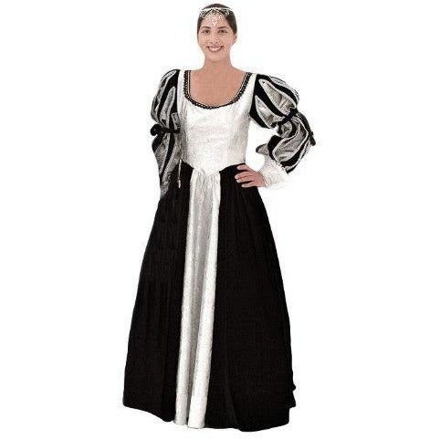 Deluxe Plus Size Medieval Queen  Costume