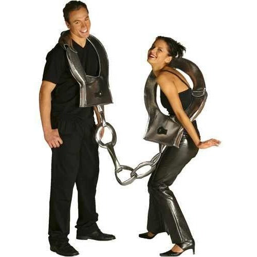adult handcuffs costume one size