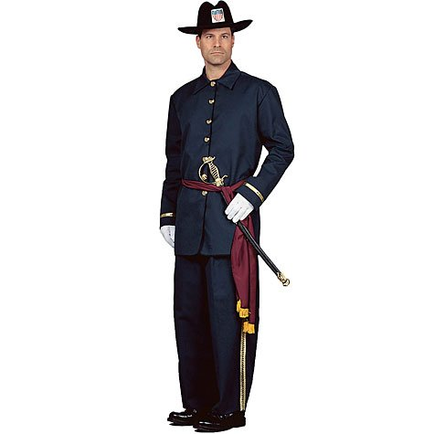 Union Soldier Adult Halloween Costume Size Large