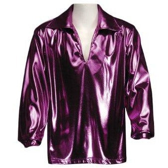 Men's Disco Shirt , Fuchsia