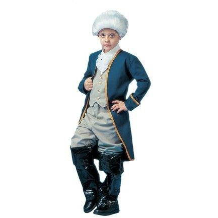 George Washington Child Costume Size Medium