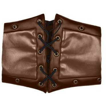 Deluxe Leather Steampunk Corset Style Belt