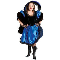 Deluxe Plus Size Saloon Girl  Costume