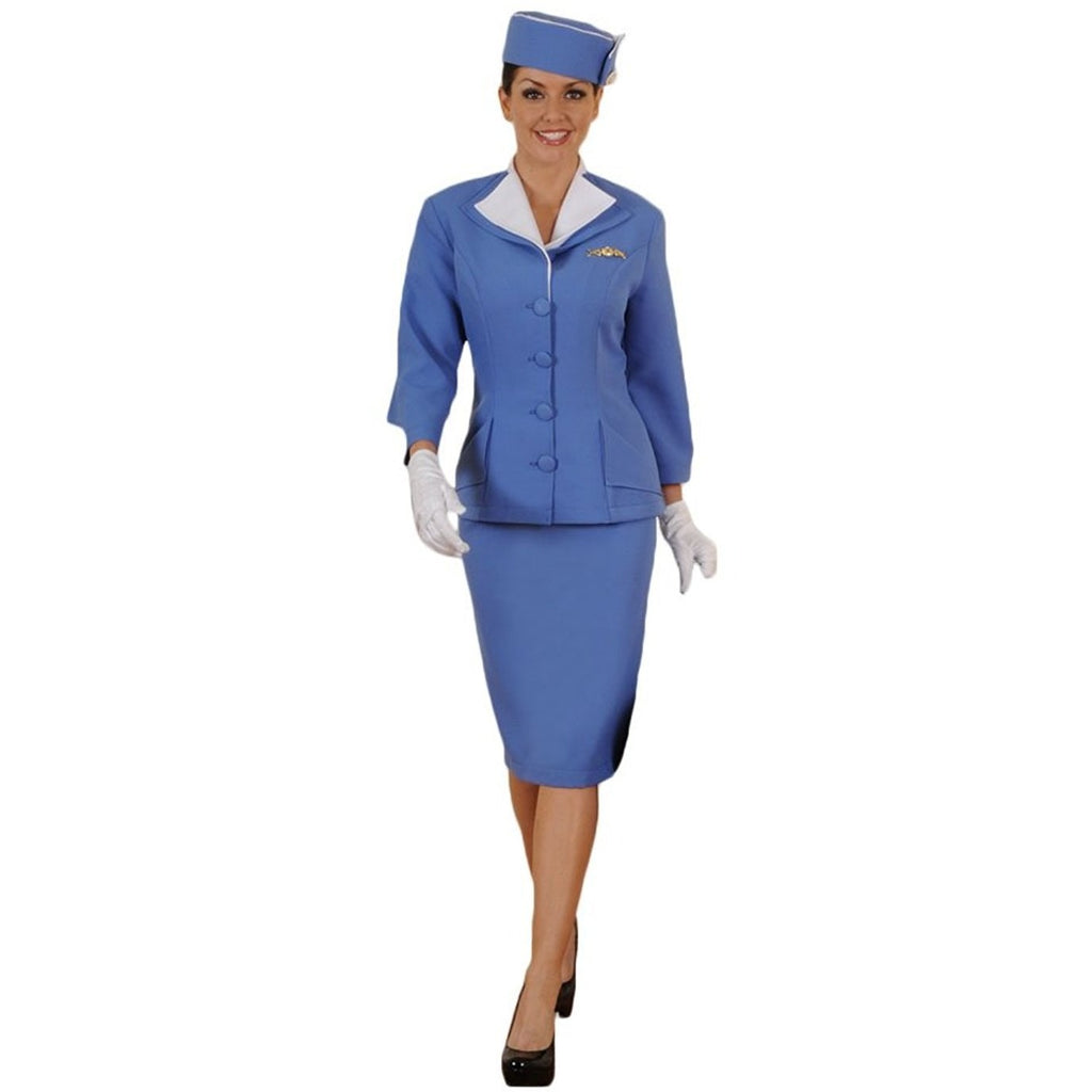 Women's Vintage/Retro Stewardess Outfit