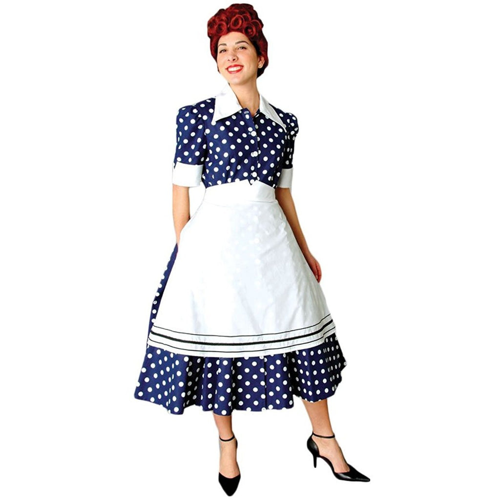 Deluxe 1950s Housewife Dress