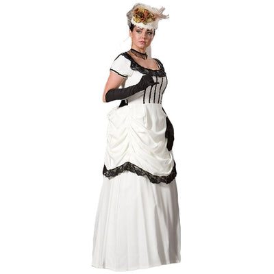 Women's White Victorian Emma Dress