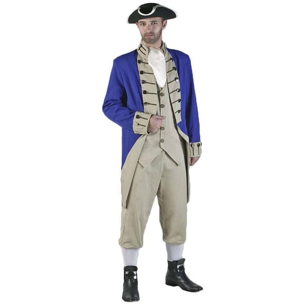 Tabi's Characters Men's Revolutionary War Colonial Soldier